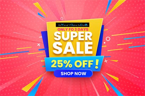 Save Upto 25%