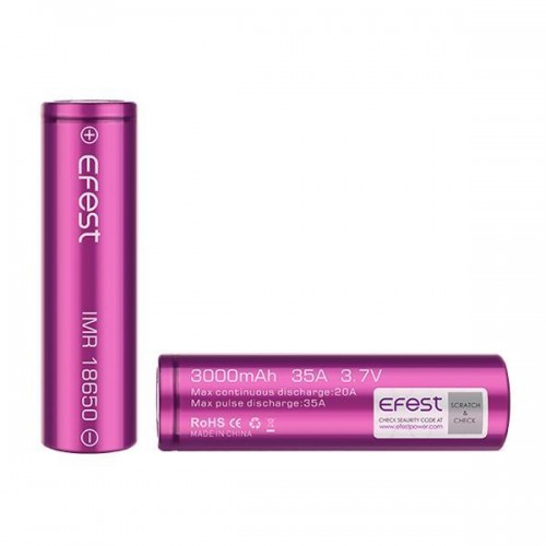 EFEST 18650 BATTERY-Vape-Wholesale