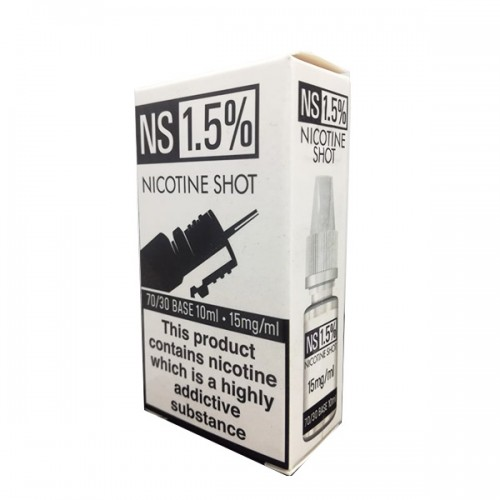 N/S NIC SHOTS 10ML - 10 ml Range - Vape Wholesale